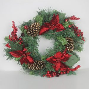 Wolasko Christmas Wreath by Masons Home Decor Singapore (2)