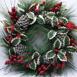 Wolasko Wreath by Masons Home Decor
