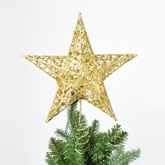 gold christmas tree star by masons home decor