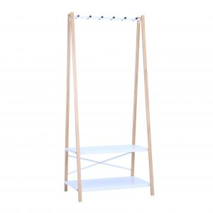 hart white clothes hanger rack by masons home decor singapore