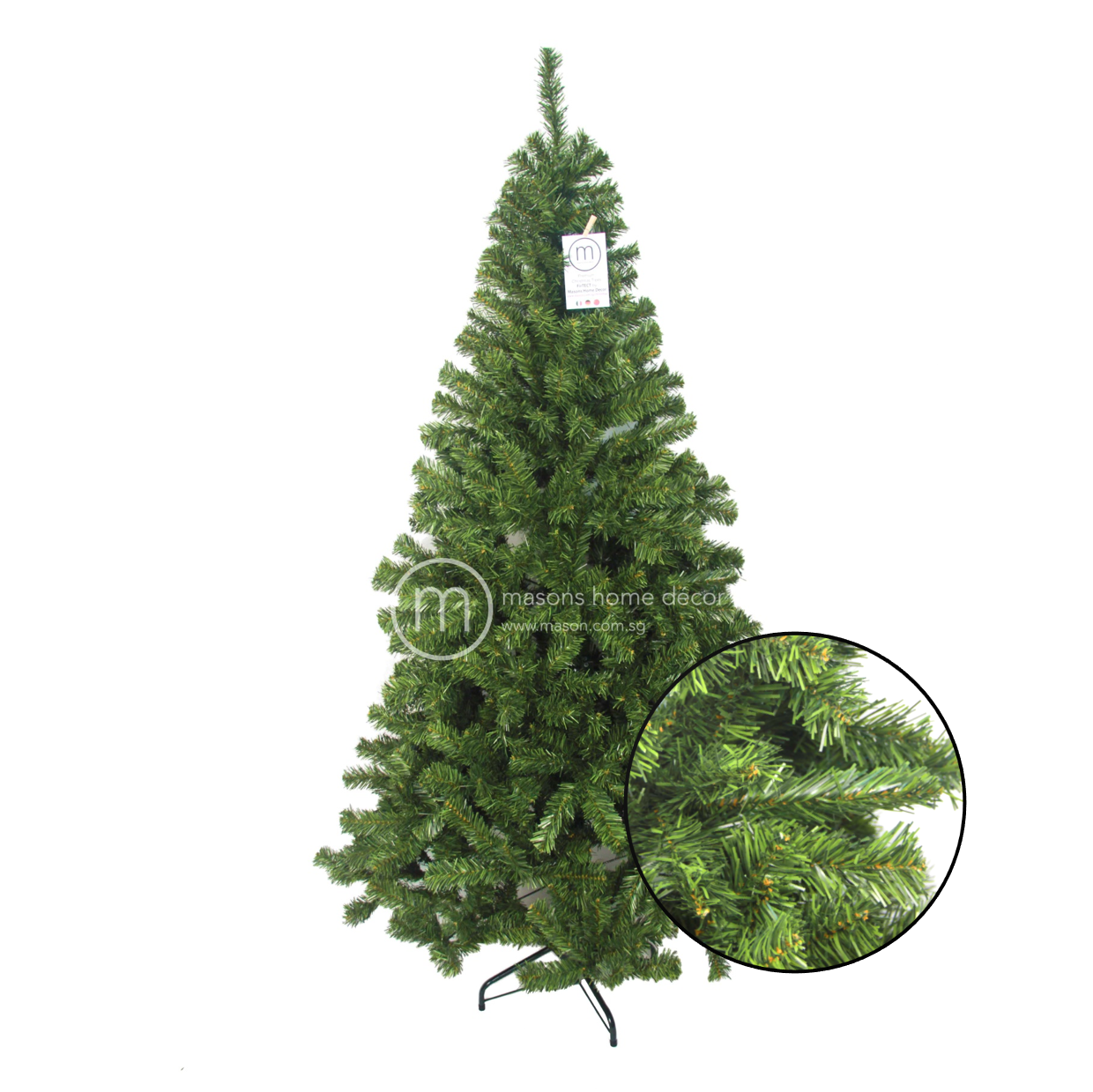Christmas Decorations Store In Singapore: Ariostea Traditional Pine Christmas Tree From Masons Home
