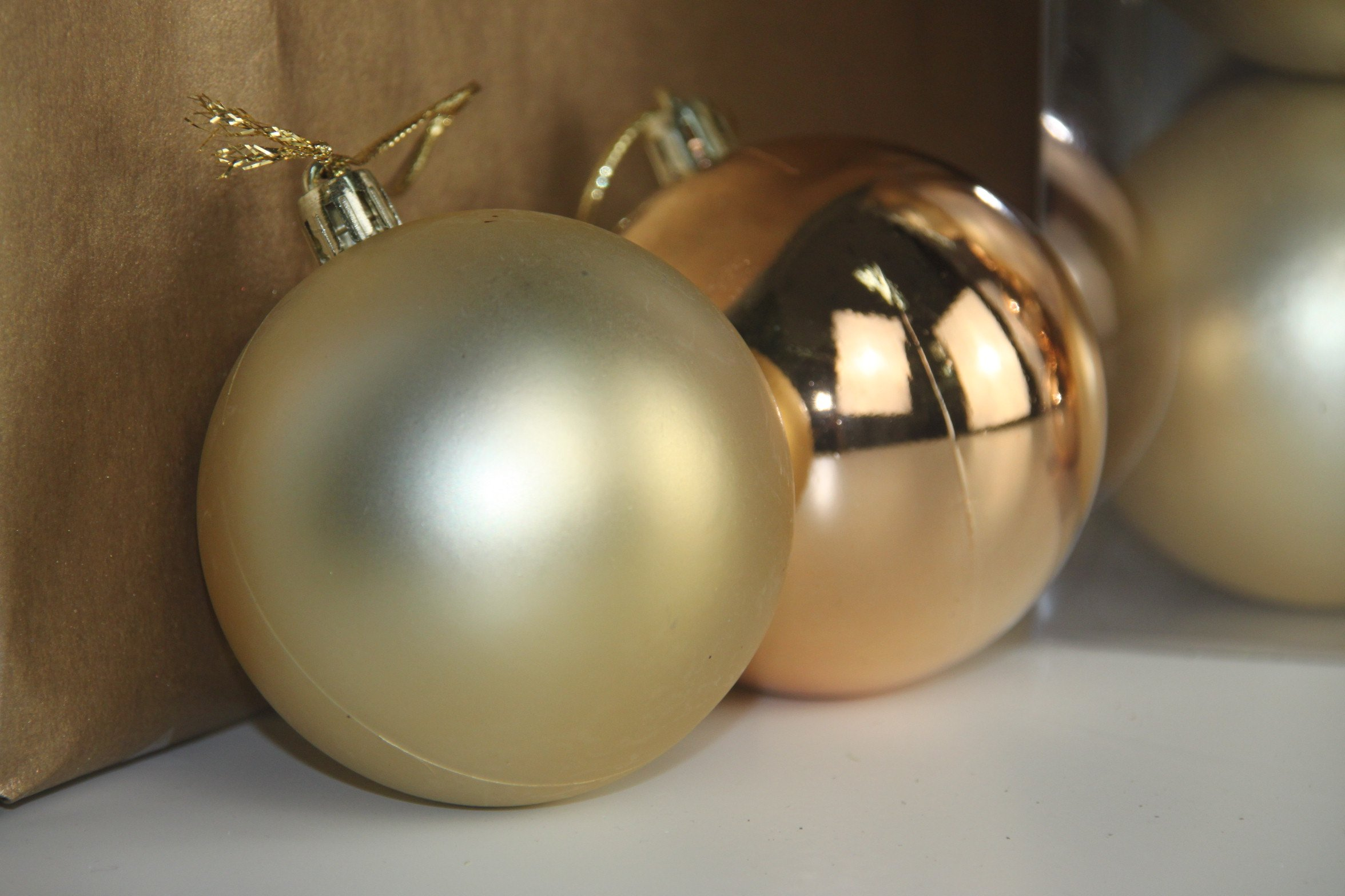 Micah Baubles Champagne Gold Masons Home Decor