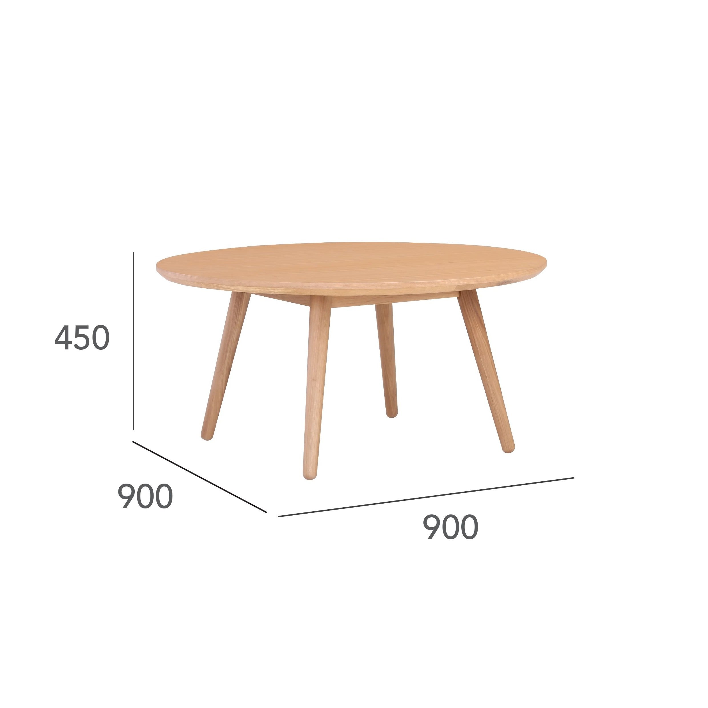 Round Coffee Table Standard Size: Round Coffee Table