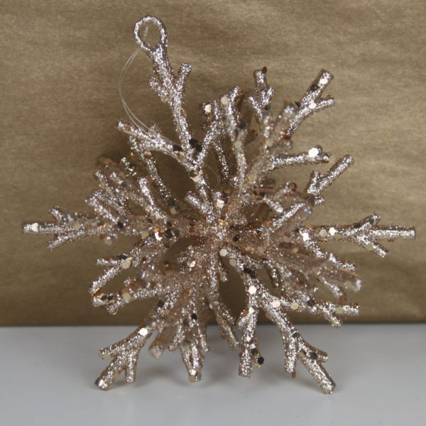 3D Snowflake Bronze by Masons Home Decor Singapore (1)