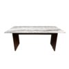 arabesque marble dining table by masons home decor