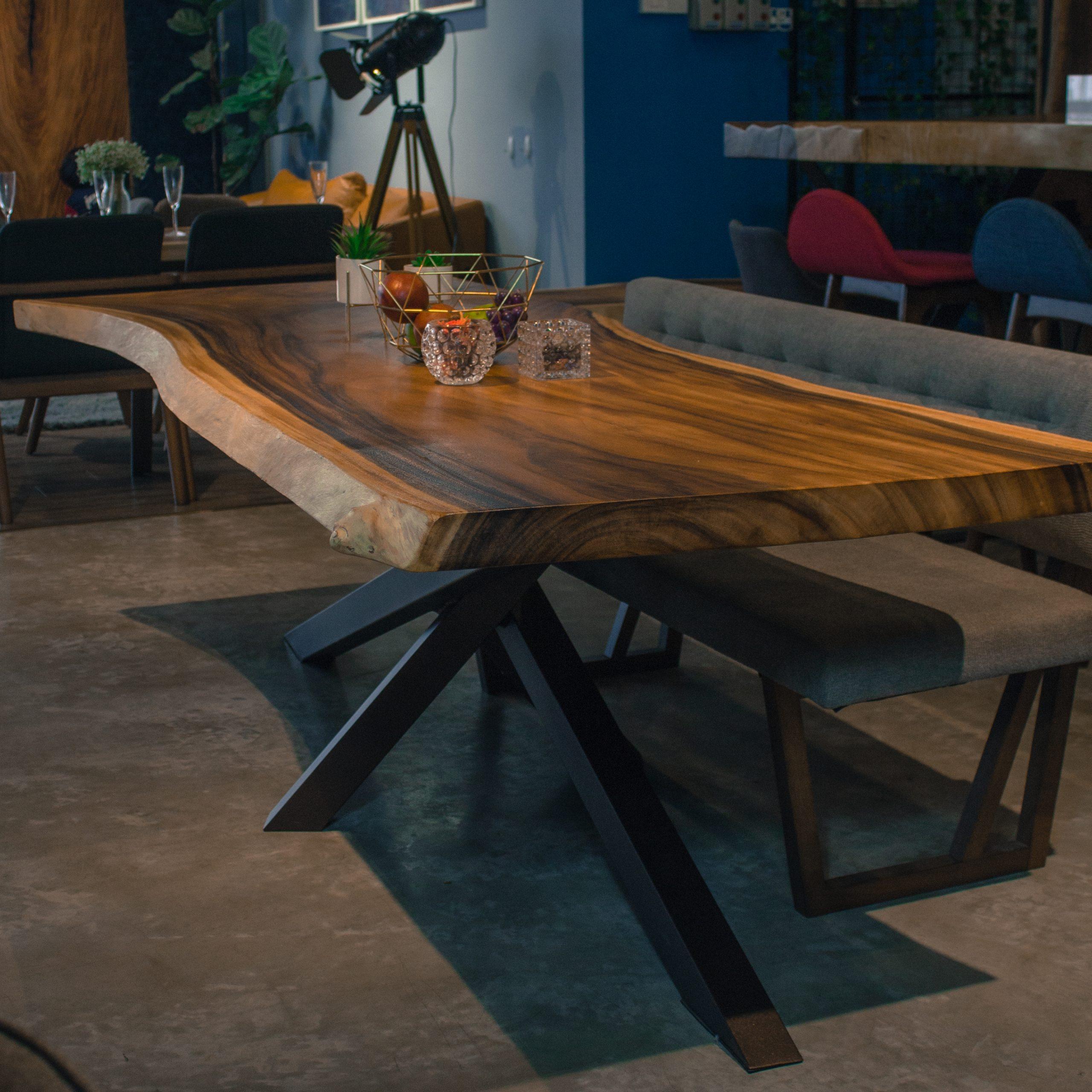 Suar Wood Dining Table Masons Home Decor